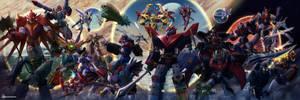 [Commission] Super Robot Wars ENDGAME