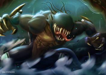 [Commission] Chamber monster