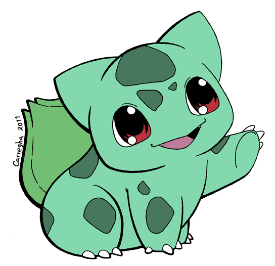 001 Bulbasaur by Guillo-Carregha