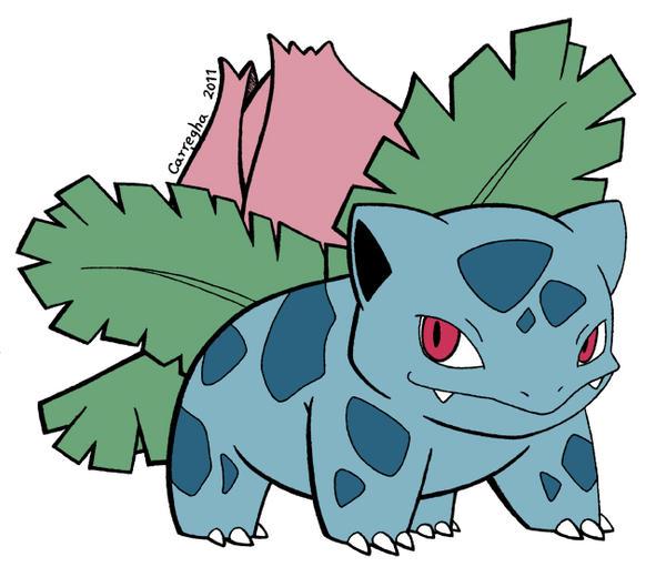 Pokemon ivysaur evolution chart