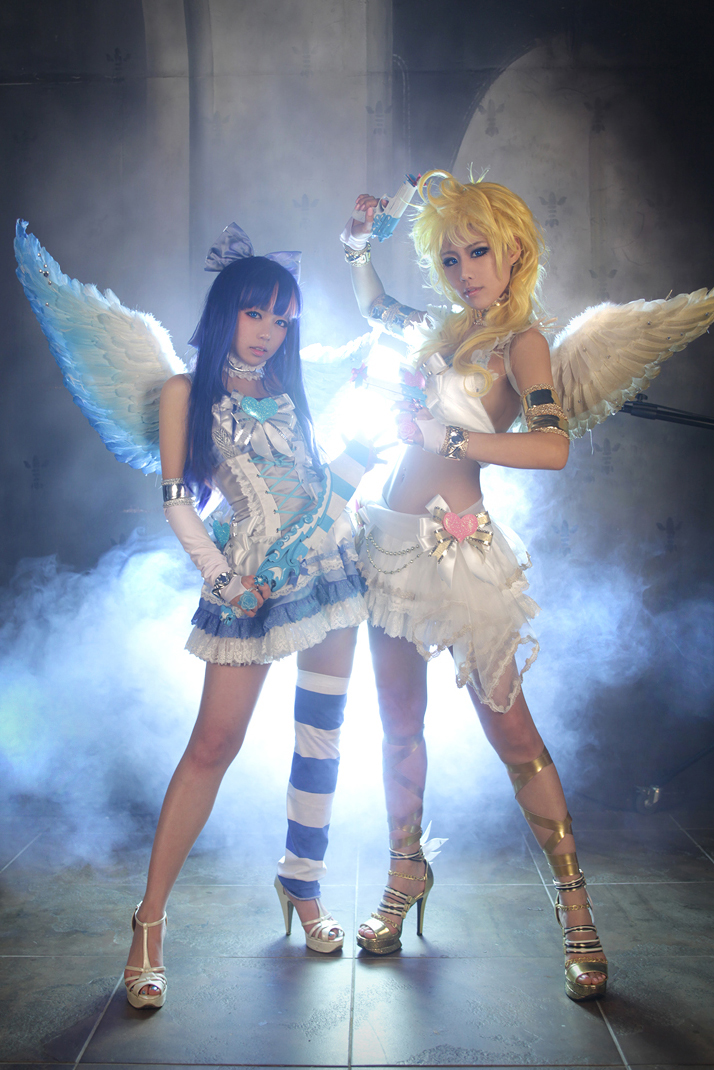 Anarchy sisters Panty & Stocking photography