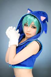 Sonic Miku 02 by ekiholic