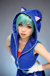 Sonic Miku 03 by ekiholic