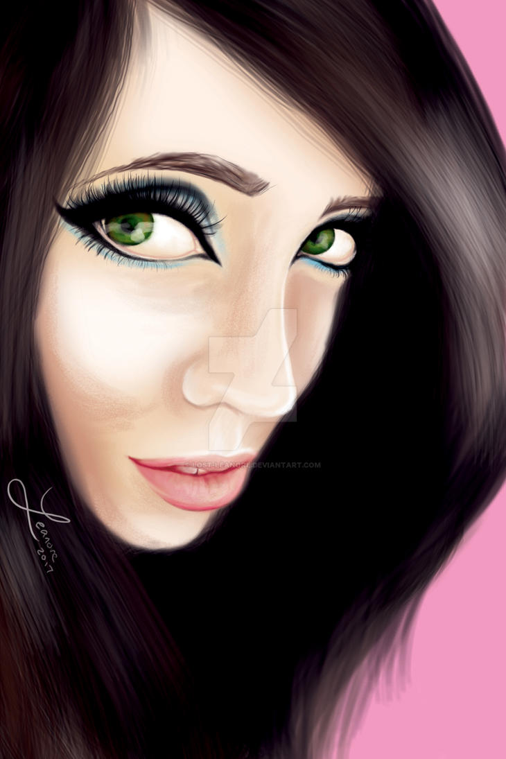 Eugenia Cooney - Digital Portrait by Lost-Leanore