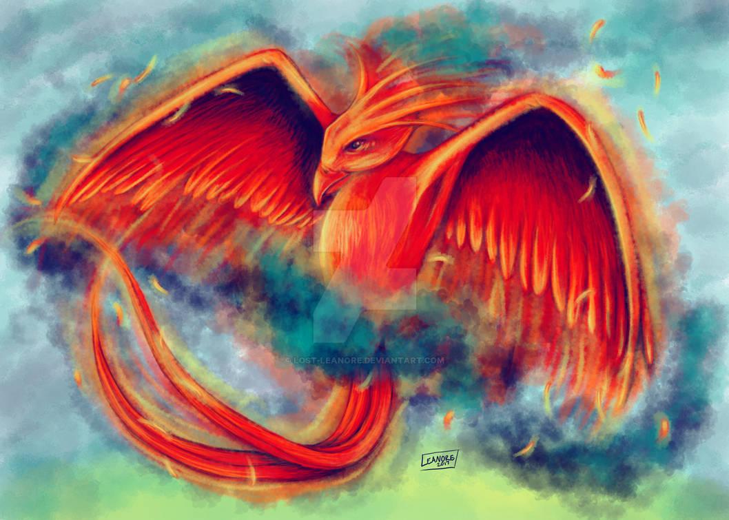 Phoenix in Flight