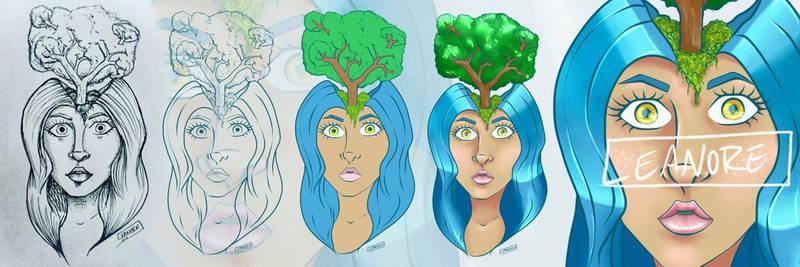 Treehead - Progress