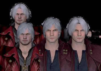 Dante-4-5-hair Test by black-cat010
