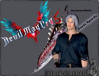 Dante The Demon Hunter is Back!BlackCat010! by black-cat010