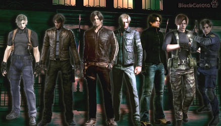 My Beloved Leon Kennedy-Through The Years!BlackCat