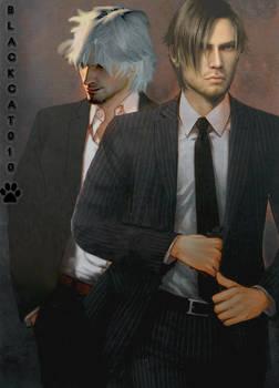 DSO Agent kennedy-Demon Hunter Dante!BlackCat010!