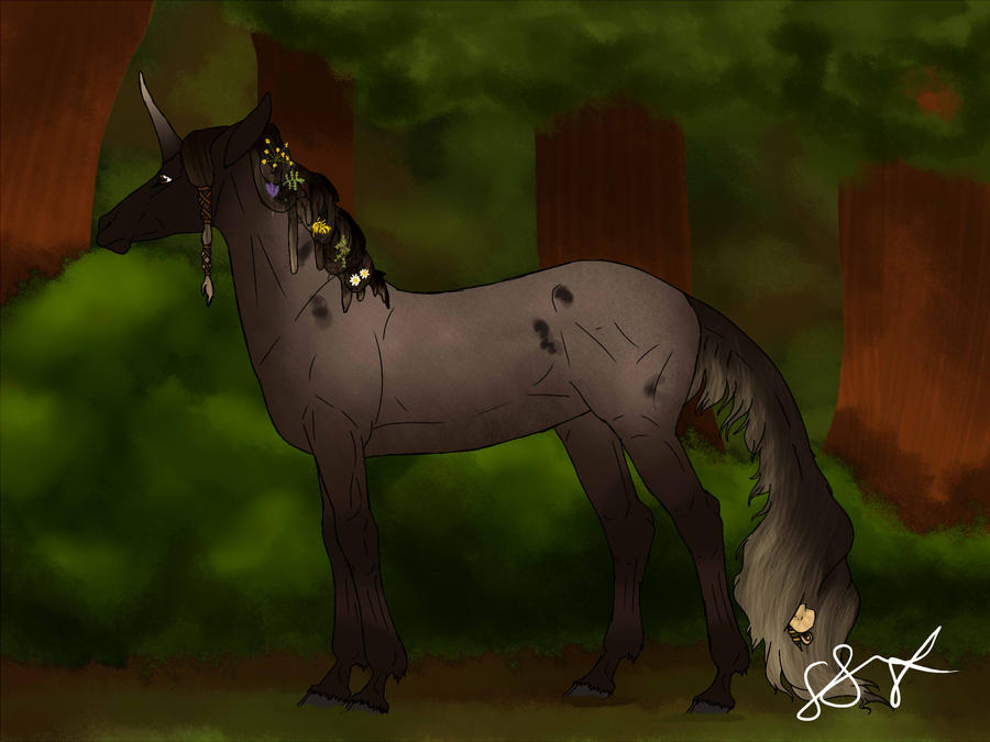 Thalia | Doe | Herdmember by MelonHeadGirl