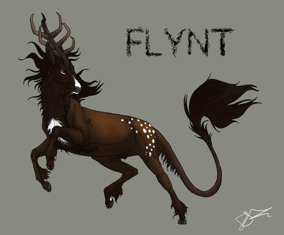 Flynt | Stag | Aspiring Firebringer/Soldier by MelonHeadGirl