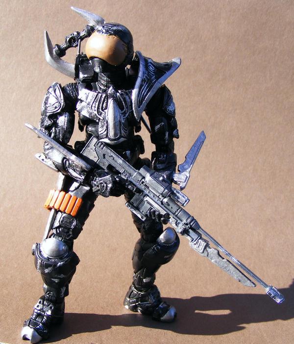 Halo 3 Spartan Ninja 2 by Jaykia