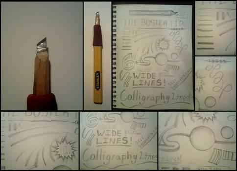 Carpenter Pencil ''Buster Tip''