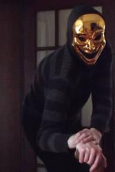 Halloween Mask by singularitycomplex