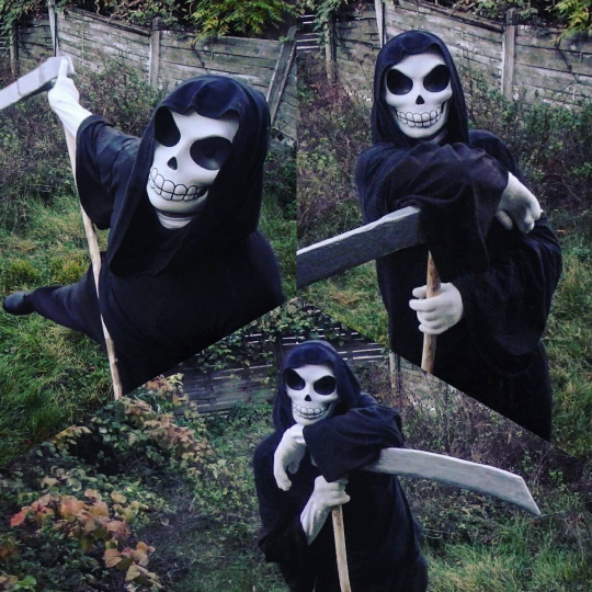 Death Cosplay by singularitycomplex