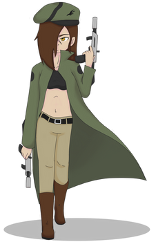 Morgan the Bounty Hunter (Request by JamesTDG)