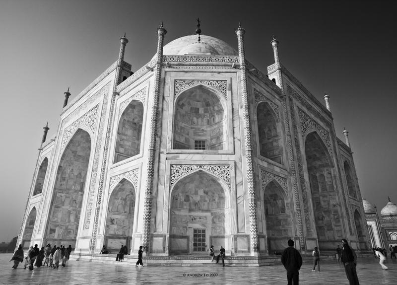 Immaculate Taj Mahal by AndrewToPhotography
