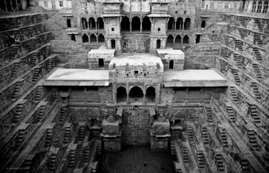 Chand Baori by AndrewToPhotography