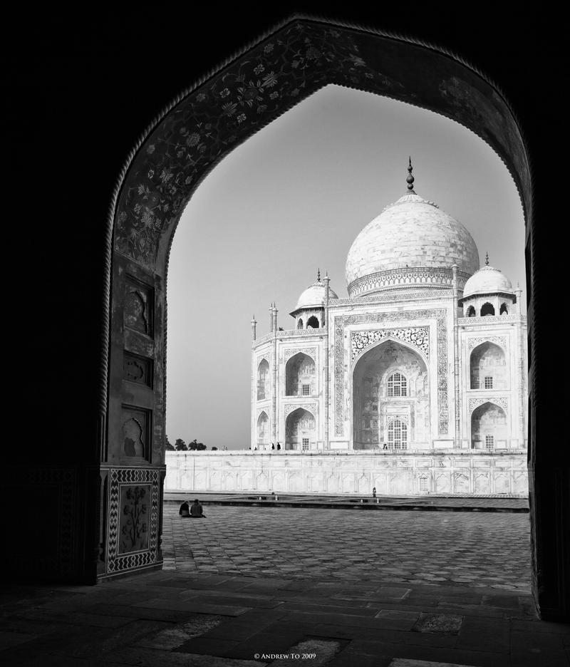 Taj Mahal VI by AndrewToPhotography
