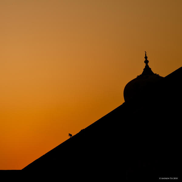 Agra Sunset by AndrewToPhotography