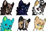 Canine Icon Commission - Batch #7
