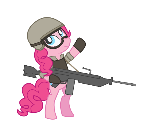 Modern Warfare Pinkie by Sefling