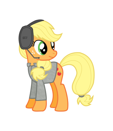 Modern Warfare Applejack by Sefling