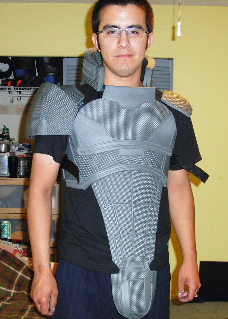 Mass Effect2 N7 Armor Shoulder by EROCKERTORRES on DeviantArt