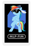 AR Character Card: Rainbow Dash