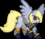 Derpy in Armor