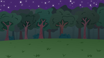 MLP BG-Forest At Night