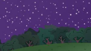 MLP BG-Forest At Night #2