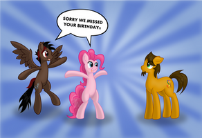 I MISSED YOUR BIRTHDAY!! by EROCKERTORRES