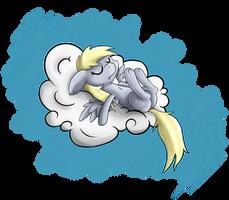 Sleepy Derpy by EROCKERTORRES