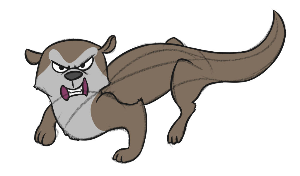 Otter Brother 1 - enemy concept by EROCKERTORRES