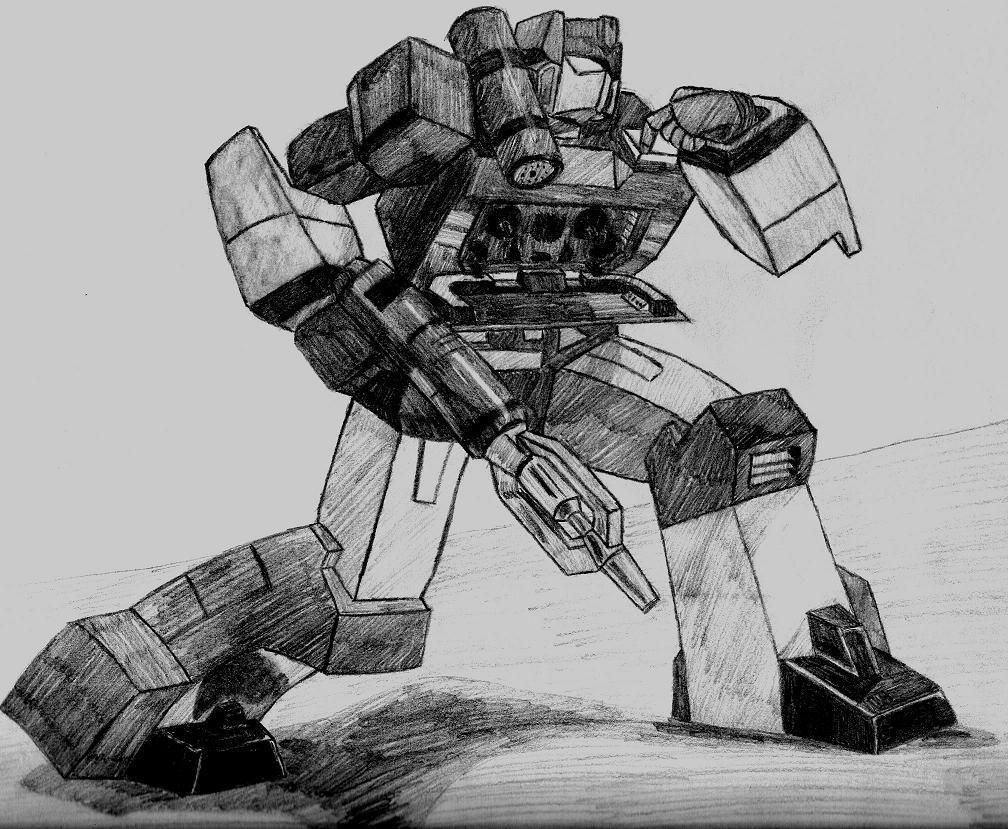 Soundwave, Transformers by dingobuzz269