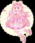 [CLOSED] Fluttercorn CollabAdopt (Rosy Maple Moth)