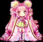 Fairy Vials: Sakura, Dango + Green Tea