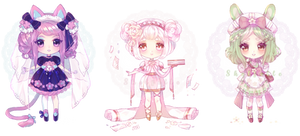 [CLOSED] PATREON ADOPTS:Floral Edition