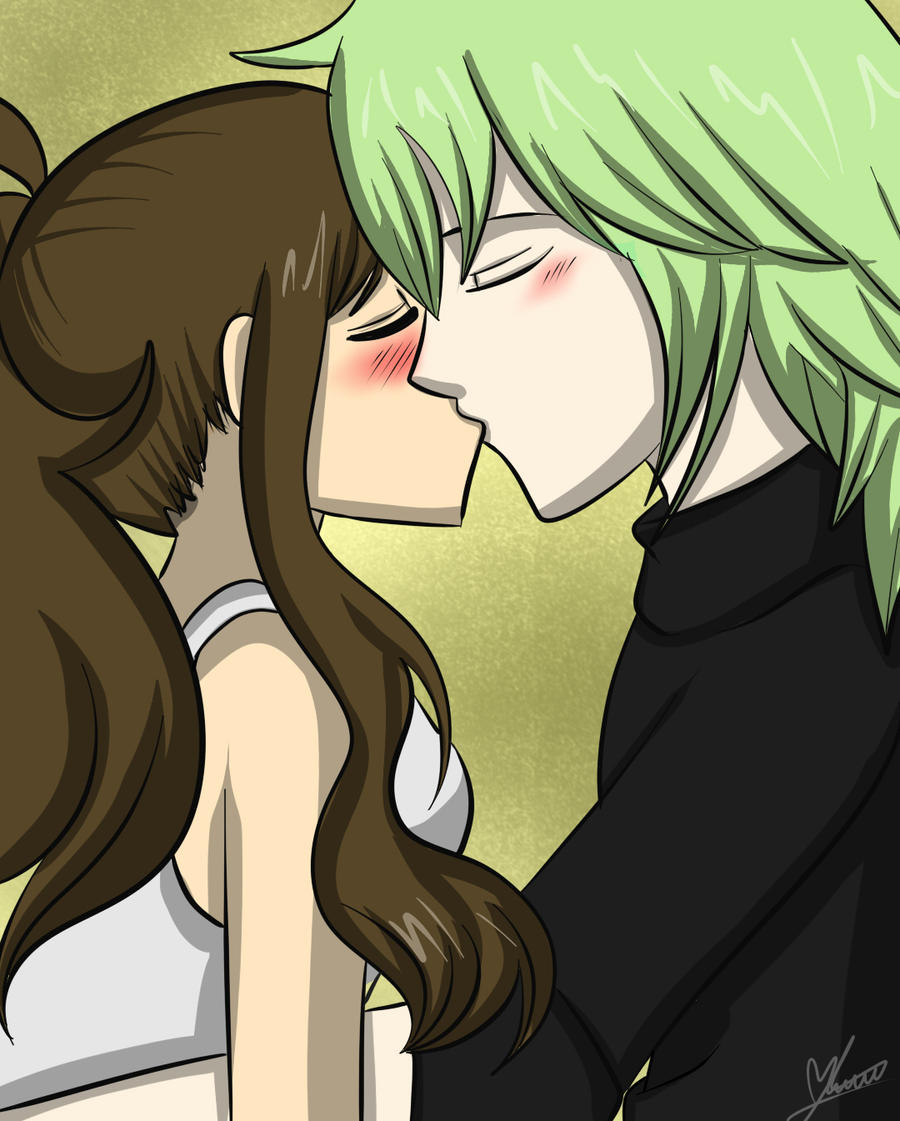 Ferriswheel Shipping Kiss by Maryloza