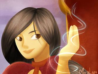 Wu The Lotus Blossom by Maryloza