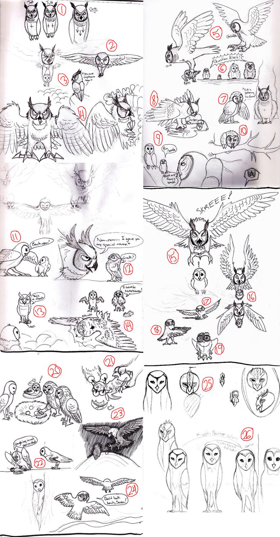 GoG Sketch Dump 2 by x-EBee-x