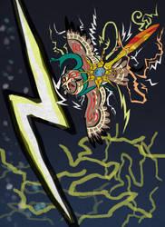 Lyze's Thunderstorm - Thunderbolt by x-EBee-x