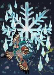 Ifghar's Blizzard - Icestorm by x-EBee-x