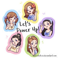 Red Velvet Power Up!