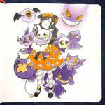 Spoopy Bois x Halloween Treats by Seamii