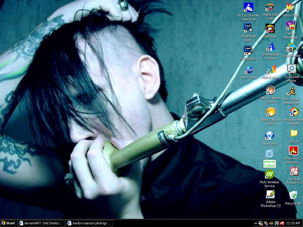 Marilyn Manson by slipping-away