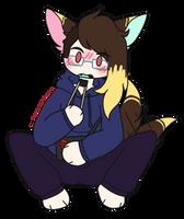 lexy eats sushi [ocs]