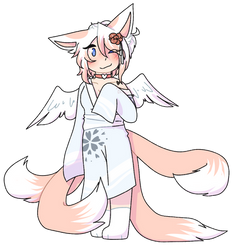 beautiful fox lady [commission]